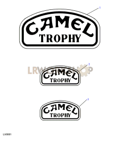 Camel Trophy Part Diagram