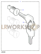 Barrel Lock & Keys Part Diagram