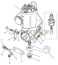 Steering Box - Power - Adwest - Heavyweight Part Diagram