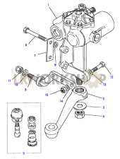 Steering Box - Power - Gemmer Part Diagram