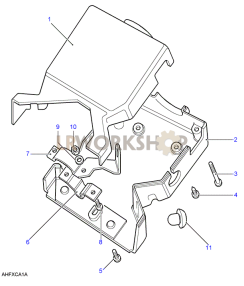 Steering Column Cover Part Diagram