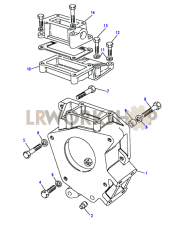 Adaptor Housing - LT85 Part Diagram