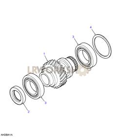 Mainshaft Gear Part Diagram