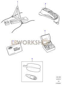 Miscellaneous Items Part Diagram