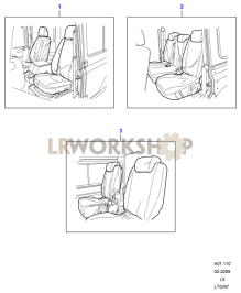 Seat Covers Part Diagram