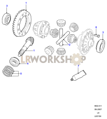 Crownwheel And Pinion Part Diagram