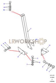 Bulkhead Stiffeners Part Diagram