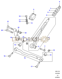 Radius Arms & Links Part Diagram