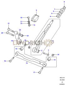 Radius Arms & Links Part Diagram