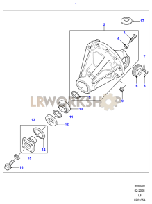 Differential Assembly 90 Part Diagram