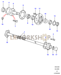 Hubs And Driveshafts Part Diagram