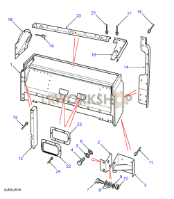 Cab Base Assembly Part Diagram