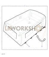 Hood Assembly - PVC Part Diagram