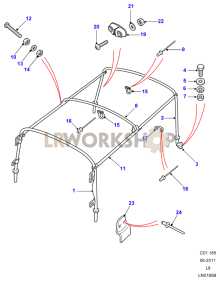 Hoodsticks Part Diagram