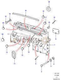 Dash Assembly (Bulkhead) Part Diagram