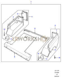 Rear Body Lower Part Diagram