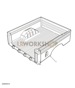 Rear Body Lower - Assembly Part Diagram