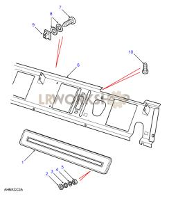 Dash Ventilator Part Diagram