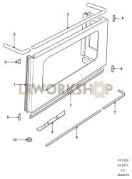 Rear Body Upper Part Diagram