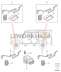 ABS Sensors Part Diagram