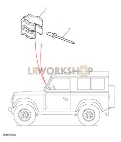 Flare Holder Part Diagram