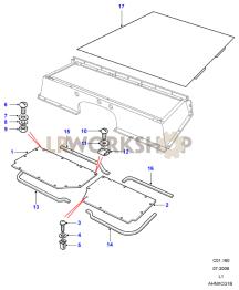 Floor Plates Part Diagram