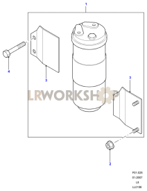 Receiver Dryer Part Diagram