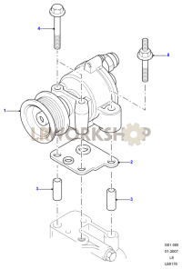 Vacuum Pump Part Diagram