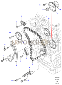 Timing Chain Part Diagram