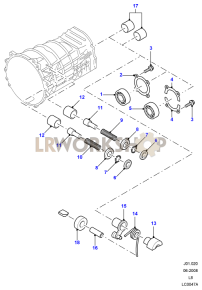 MT82 - 6 Speed manual Diagrams - Find Land Rover parts at LR