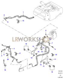 Fuel Lines Part Diagram