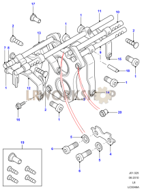 Gear Shift Mechanism Part Diagram