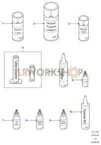 Sealing Compounds and Adhesives Part Diagram