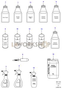 Car Care Products Part Diagram