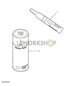 Paint Part Diagram