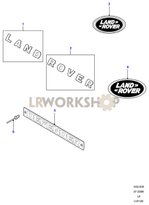 Badges And Decals Part Diagram