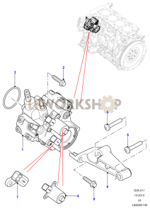 Fuel Injection Pump Part Diagram
