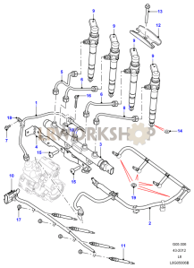 Fuel Injectors Part Diagram