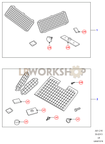 Window Guards Part Diagram