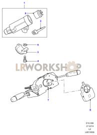 Steering Column Part Diagram