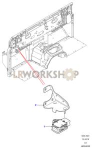 Yaw Sensor Part Diagram