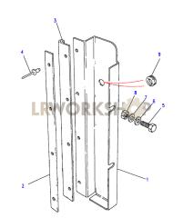 Radiator Baffle Plate Part Diagram