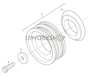 Crankshaft Pulley Part Diagram