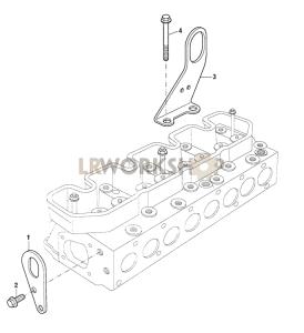 Engine Lifting Eyes Part Diagram