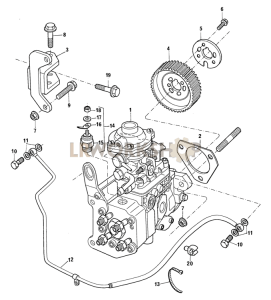 Fuel Injection Pump Part Diagram