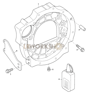 Flywheel Housing Part Diagram