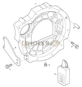 Flywheel Housing Part Diagram