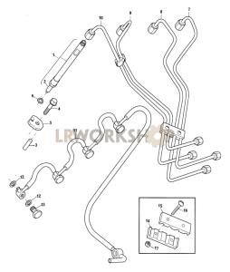 Fuel Injectors Part Diagram