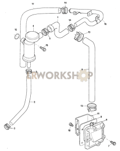 Crankcase Ventilation Part Diagram