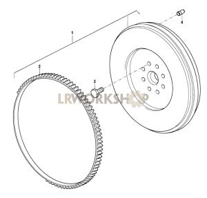 Flywheel Part Diagram